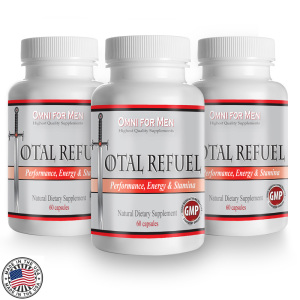 Total Refuel - Male Enhancement Natural Herbal Supplement. Boost Testosterone Levels Safely.